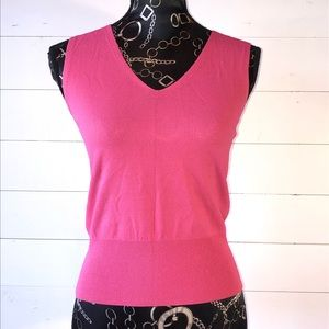 Bright Orchid Pink Soft Knit Top